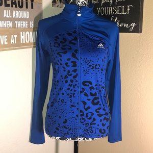 Adidas women's leopard jacket